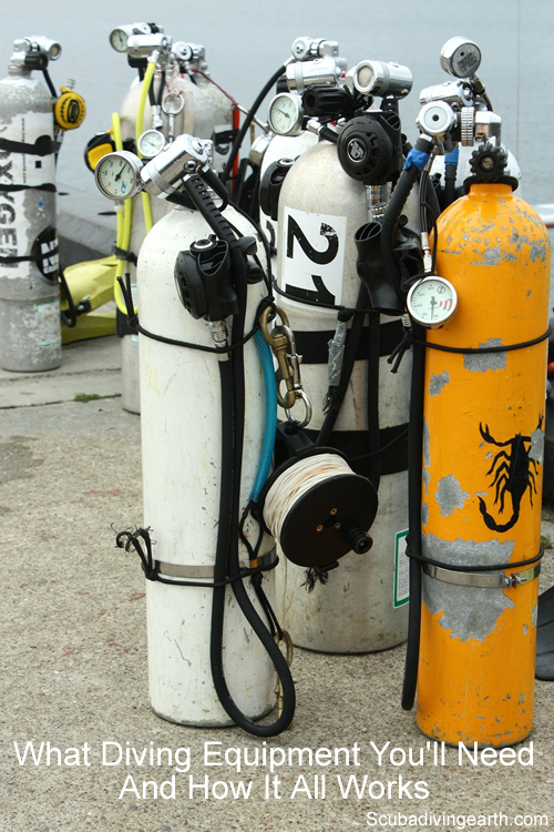 What diving equipment you'll need and how it all works