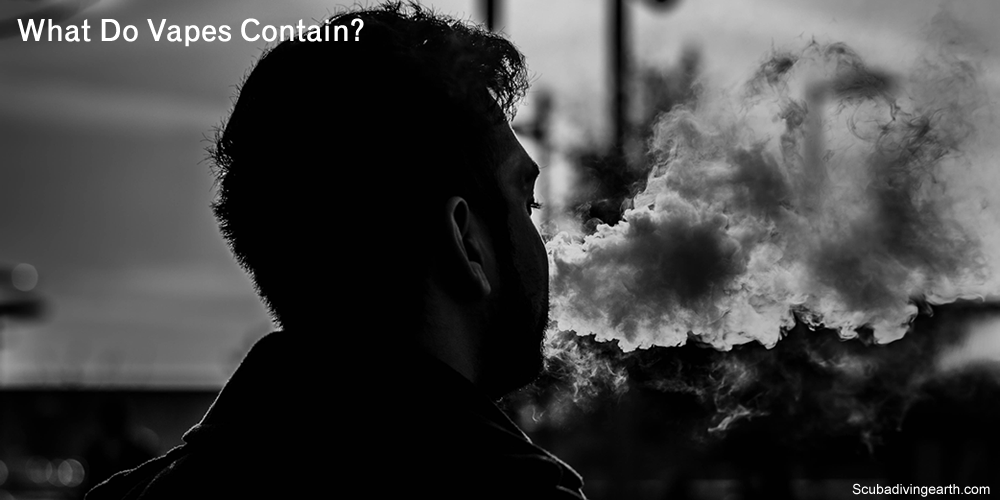 What do vapes contain?