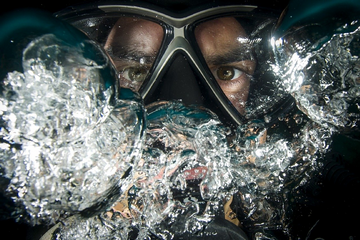 What helps with anxiety learning to scuba dive? (Are you nervous?)