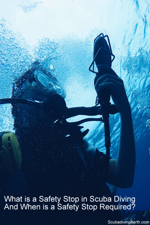 What is a Safety Stop Scuba Diving And When is a Safety Stop Required