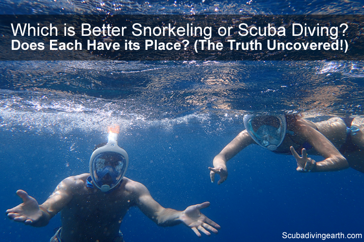 Which is Better Snorkelling or Scuba Diving