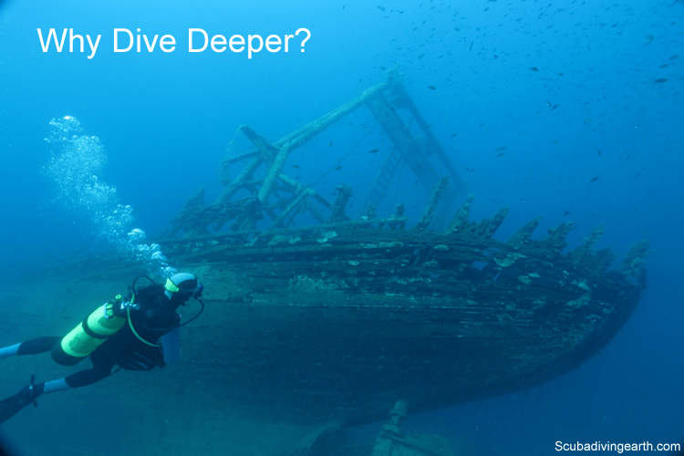 Why dive deeper - why dive to 47 metres