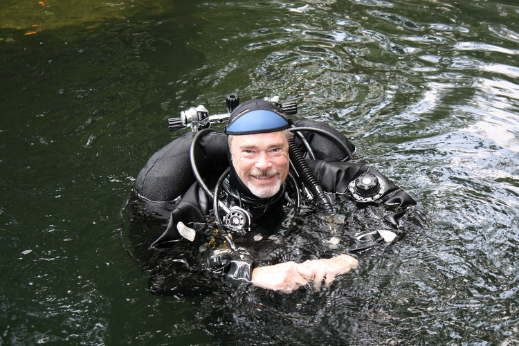 Why use your BCD for buoyancy control when drysuit diving
